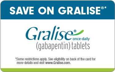 Pay no more than $25 for Gralise